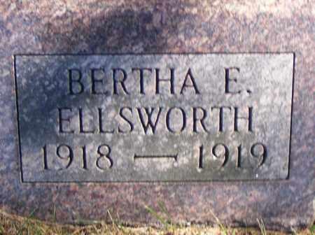 ELLSWORTH, BERTHA - Logan County, Ohio | BERTHA ELLSWORTH - Ohio Gravestone Photos