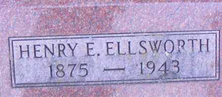 ELLSWORTH, HENRY E - Logan County, Ohio | HENRY E ELLSWORTH - Ohio Gravestone Photos