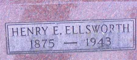 ELLSWORTH, HENRY E - Logan County, Ohio | HENRY E ELLSWORTH - Ohio Gravestone Photos