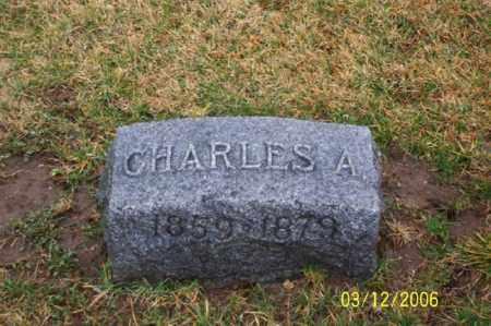 FRANTZ, CHARLES A - Logan County, Ohio | CHARLES A FRANTZ - Ohio Gravestone Photos