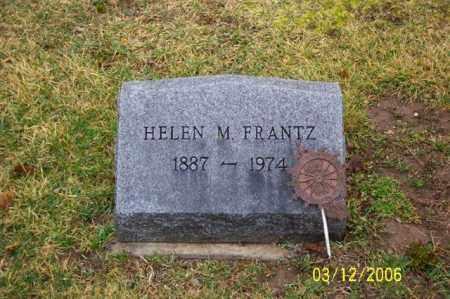 FRANTZ, HELEN M - Logan County, Ohio   HELEN M FRANTZ - Ohio Gravestone Photos