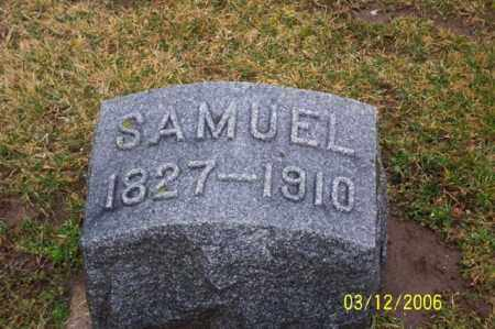 FRANTZ, SAMUAL - Logan County, Ohio | SAMUAL FRANTZ - Ohio Gravestone Photos