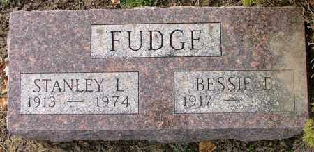 FUDGE, BESSIE E. ARMSTRONG - Logan County, Ohio | BESSIE E. ARMSTRONG FUDGE - Ohio Gravestone Photos