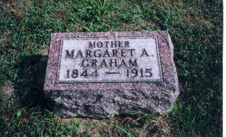 GRAHAM, MARGARET A - Logan County, Ohio | MARGARET A GRAHAM - Ohio Gravestone Photos