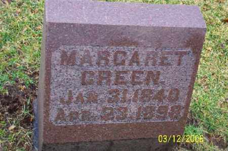 GREEN, MARGARET - Logan County, Ohio | MARGARET GREEN - Ohio Gravestone Photos