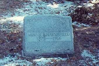 HARSHFIELD, MINNIE B. SMITH - Logan County, Ohio | MINNIE B. SMITH HARSHFIELD - Ohio Gravestone Photos