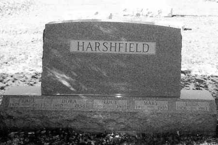 HARSHFIELD, LUCY - Logan County, Ohio | LUCY HARSHFIELD - Ohio Gravestone Photos