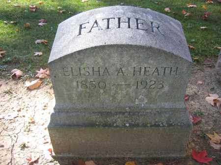 HEATH, ELISHA A. - Logan County, Ohio | ELISHA A. HEATH - Ohio Gravestone Photos