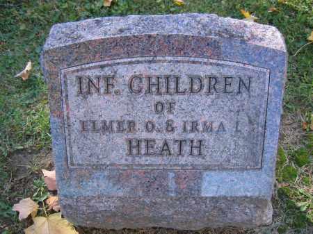 HEATH, INFANT - Logan County, Ohio | INFANT HEATH - Ohio Gravestone Photos