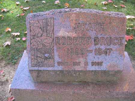 HEATH, ROBERT BRUCE - Logan County, Ohio | ROBERT BRUCE HEATH - Ohio Gravestone Photos