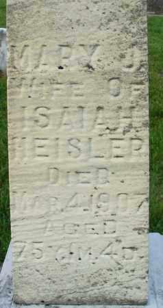 HEISLER HEISLER, MARY JANE - Logan County, Ohio | MARY JANE HEISLER HEISLER - Ohio Gravestone Photos