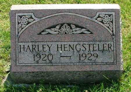 HENGSTELER, HARLEY - Logan County, Ohio | HARLEY HENGSTELER - Ohio Gravestone Photos
