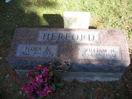 HERFORD, WILLIAM N. - Logan County, Ohio | WILLIAM N. HERFORD - Ohio Gravestone Photos