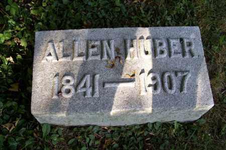 HUBER, ALLEN - Logan County, Ohio | ALLEN HUBER - Ohio Gravestone Photos