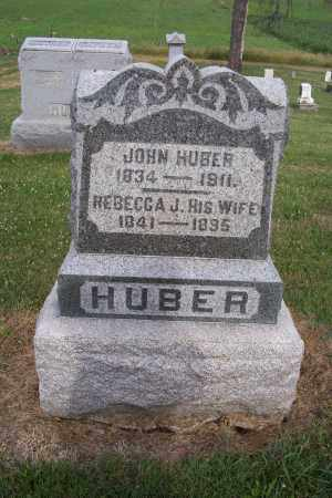 HUBER, REBECCA J - Logan County, Ohio | REBECCA J HUBER - Ohio Gravestone Photos