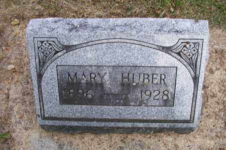 HUBER, MARY - Logan County, Ohio | MARY HUBER - Ohio Gravestone Photos