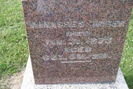 HUBER, MANASSES - Logan County, Ohio   MANASSES HUBER - Ohio Gravestone Photos