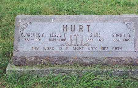 HURT, LESLIE F. - Logan County, Ohio | LESLIE F. HURT - Ohio Gravestone Photos