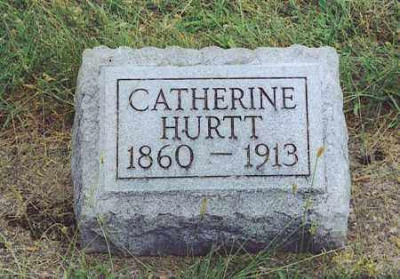 HURTT, CATHERINE - Logan County, Ohio | CATHERINE HURTT - Ohio Gravestone Photos
