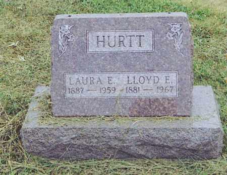 HURTT, LLOYD E. - Logan County, Ohio | LLOYD E. HURTT - Ohio Gravestone Photos