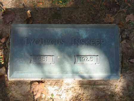 INSKEEP, LYCURGUS - Logan County, Ohio | LYCURGUS INSKEEP - Ohio Gravestone Photos