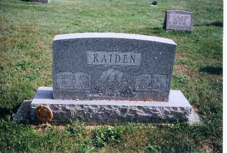 KAIDEN, CHERYLL ANN - Logan County, Ohio | CHERYLL ANN KAIDEN - Ohio Gravestone Photos