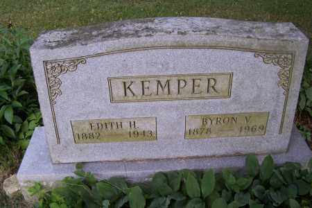 KEMPER, EDITH - Logan County, Ohio | EDITH KEMPER - Ohio Gravestone Photos