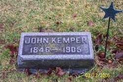 KEMPER, JOHN - Logan County, Ohio | JOHN KEMPER - Ohio Gravestone Photos