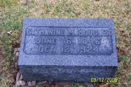 KOOGLER, CATHERINE M - Logan County, Ohio | CATHERINE M KOOGLER - Ohio Gravestone Photos