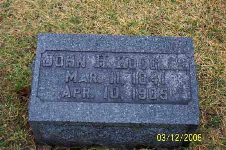 KOOGLER, JOHN H - Logan County, Ohio | JOHN H KOOGLER - Ohio Gravestone Photos
