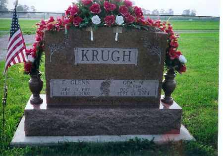 KRUGH, E GLENN - Logan County, Ohio | E GLENN KRUGH - Ohio Gravestone Photos