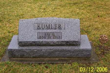 KUMLER, RAY G - Logan County, Ohio | RAY G KUMLER - Ohio Gravestone Photos