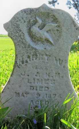 LIMES, HARRY W. - Logan County, Ohio | HARRY W. LIMES - Ohio Gravestone Photos