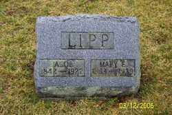 LIPP, MARY E - Logan County, Ohio | MARY E LIPP - Ohio Gravestone Photos