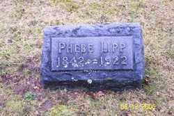 LIPP, PHEBE - Logan County, Ohio | PHEBE LIPP - Ohio Gravestone Photos