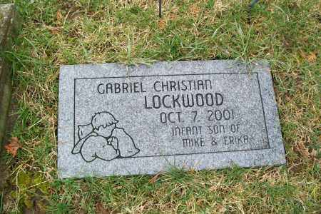 LOCKWOOD, GABRIEL CHRISTIAN - Logan County, Ohio | GABRIEL CHRISTIAN LOCKWOOD - Ohio Gravestone Photos