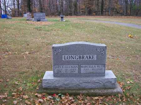 GUCKIAN LONGBRAKE, LOIS E. - Logan County, Ohio | LOIS E. GUCKIAN LONGBRAKE - Ohio Gravestone Photos