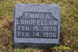 LONGFELLOW, EMMA A - Logan County, Ohio | EMMA A LONGFELLOW - Ohio Gravestone Photos