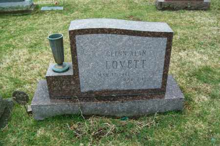 LOVETT, GLENN ALAN - Logan County, Ohio | GLENN ALAN LOVETT - Ohio Gravestone Photos