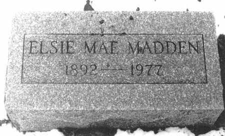 MADDEN, ELSIE MAE - Logan County, Ohio | ELSIE MAE MADDEN - Ohio Gravestone Photos
