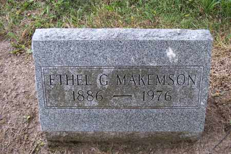 MAKEMSON, ETHEL - Logan County, Ohio | ETHEL MAKEMSON - Ohio Gravestone Photos