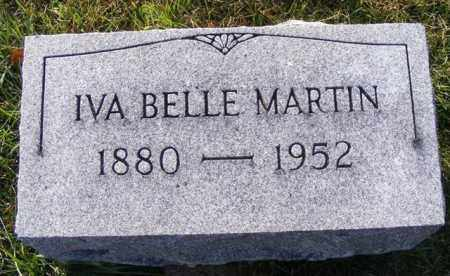 MARTIN, IVA BELLE - Logan County, Ohio | IVA BELLE MARTIN - Ohio Gravestone Photos