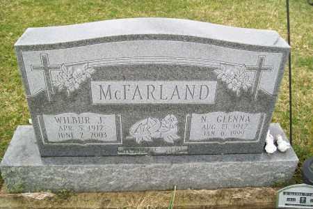 MCFARLAND, N. GLENNA - Logan County, Ohio | N. GLENNA MCFARLAND - Ohio Gravestone Photos