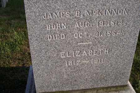 MCKINNON, JAMES B. - Logan County, Ohio | JAMES B. MCKINNON - Ohio Gravestone Photos