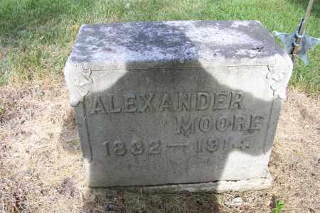 MOORE, ALEXANDER - Logan County, Ohio | ALEXANDER MOORE - Ohio Gravestone Photos