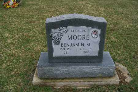 MOORE, BENJAMIN M. - Logan County, Ohio | BENJAMIN M. MOORE - Ohio Gravestone Photos