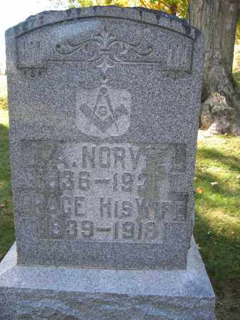 NORVIEL, GRACE - Logan County, Ohio | GRACE NORVIEL - Ohio Gravestone Photos