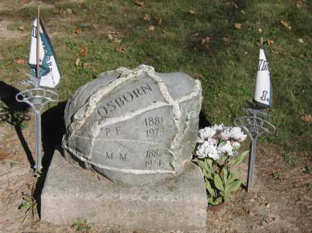 OSBORN, P.E. - Logan County, Ohio | P.E. OSBORN - Ohio Gravestone Photos
