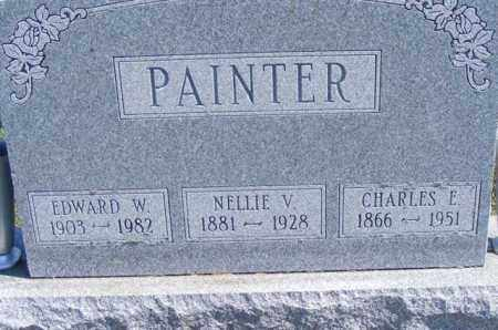 PAINTER, NELLIE V - Logan County, Ohio | NELLIE V PAINTER - Ohio Gravestone Photos