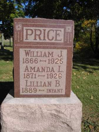 PRICE, AMANADA L. - Logan County, Ohio | AMANADA L. PRICE - Ohio Gravestone Photos